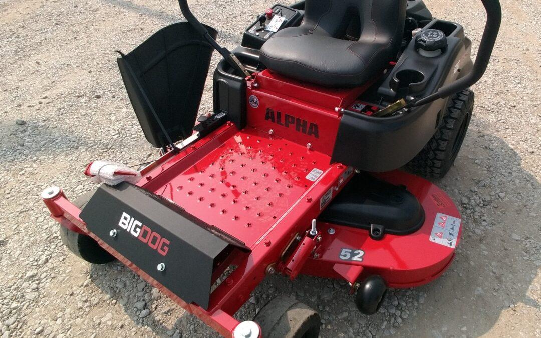 BIGDOG Alpha 52″ Zero Turn Mower