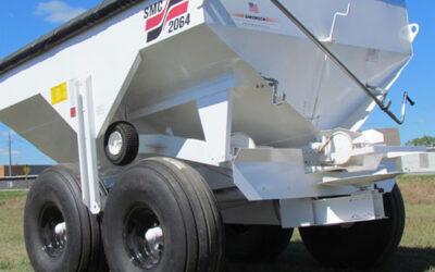 Simonsen 6Ton Pull Type Dry Fertilizer Spreader