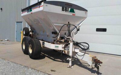 2016 BBI Trooper 8 Fertilizer Spreader